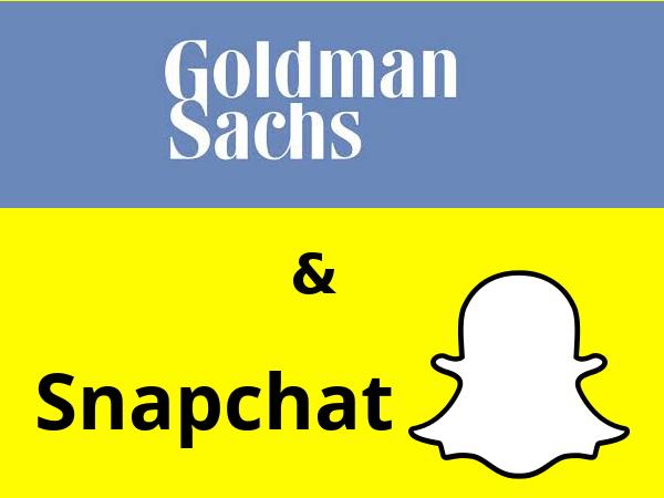 GoldmanSachs-Snapchat