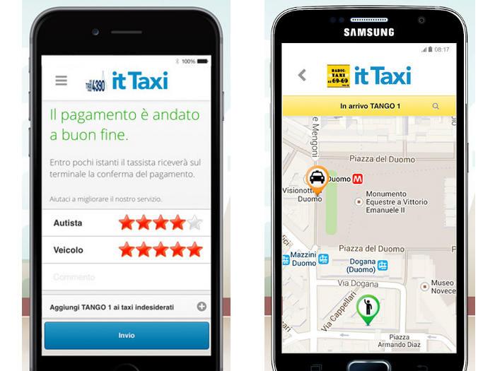 IT Taxi, la app con la que los taxis italianos ya aceptan bitcoins