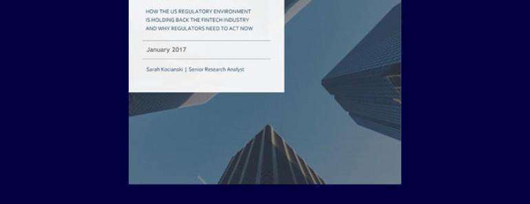 BI Intelligence: Informe sobre regulación fintech en EE.UU.