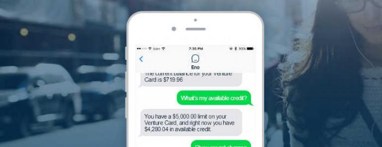 Capital One lanza Eno, un chatbot capaz de interactuar mediante emoticonos