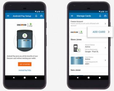 Android Pay se integra en apps de banca móvil