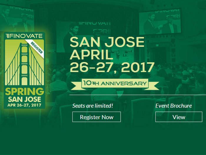 FinovateSpring 2017: potente evento fintech en San José