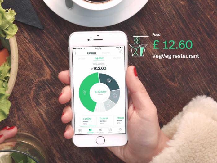 Captura de pantalla de la app Oval Money
