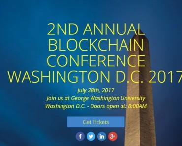 Blockchain Washington DC Conference 2017