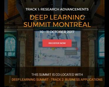 Deep Learning Summit Montreal